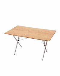 Single Action Table Long Bamboo Top