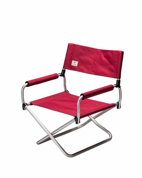 Folding Low Chair in Red