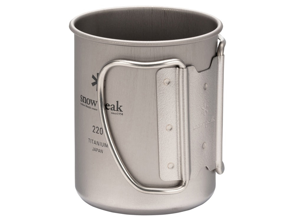 Titanium Single Wall 220 Mug
