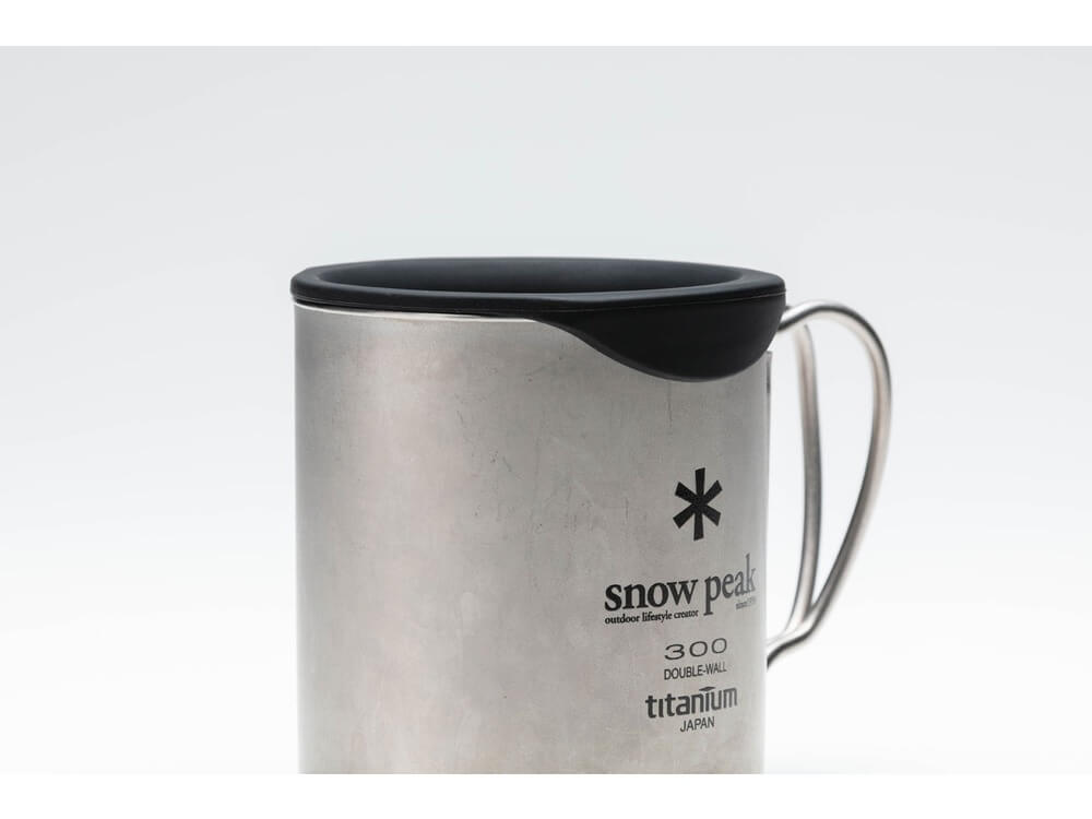 Silicone Lid For Double-Wall 300 Mug