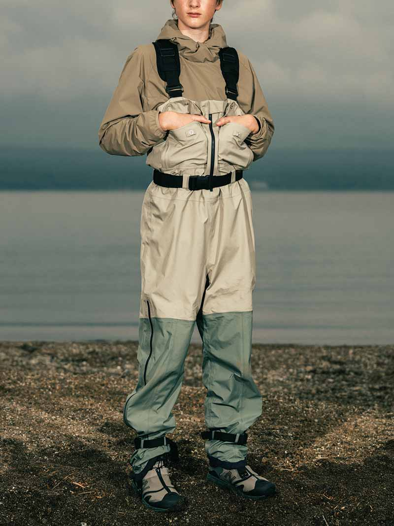 Snow Peak x TDS eVent Wader