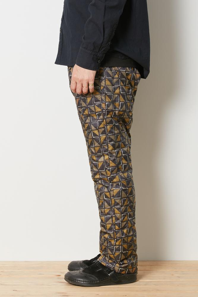 Snow Peak Printed Recycled Middle Down Pants Pa-19Au10600Rd