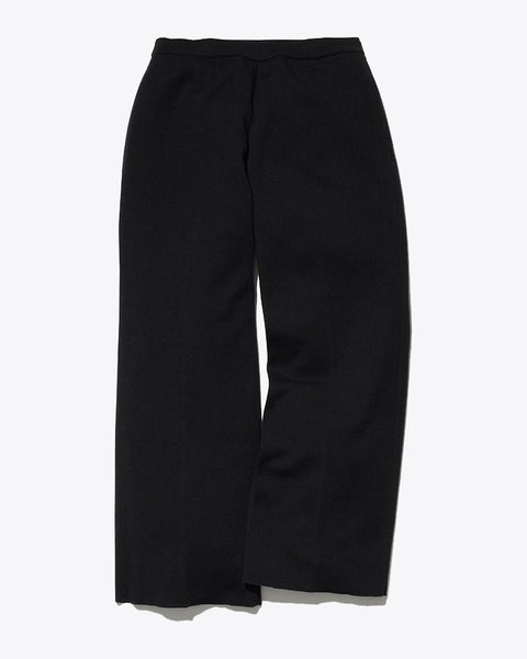 Wool Linen/Pe Pants Wide