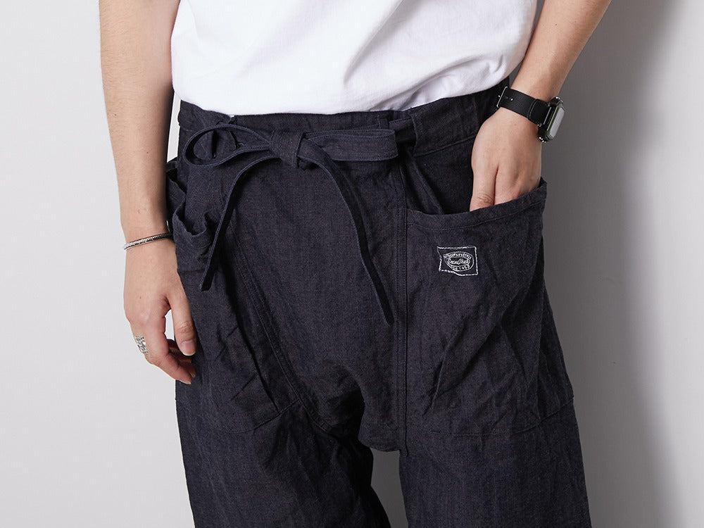 Organic Cotton Canvas NORAGI Pants