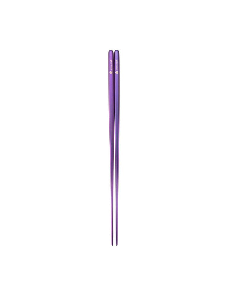 Titanium Colour Chopsticks (Blue, Green, Purple)