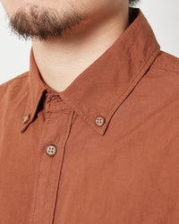 Snow Peak Ultimate Pima Poplyn Button Down Shirt Sh-19Au20100Bk