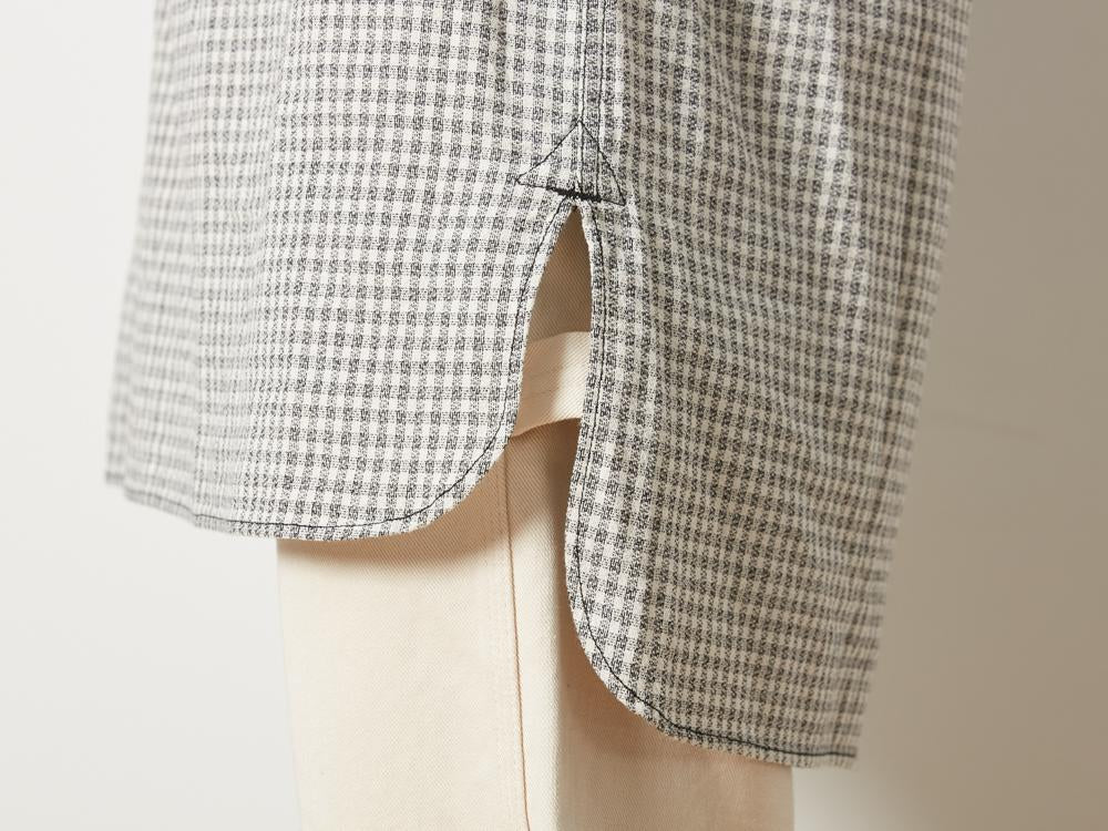 Snow Peak sh-19au211-sleeping-shirt-gingham-check