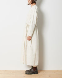 Cotton Wrap Dress - snow-peak-uk
