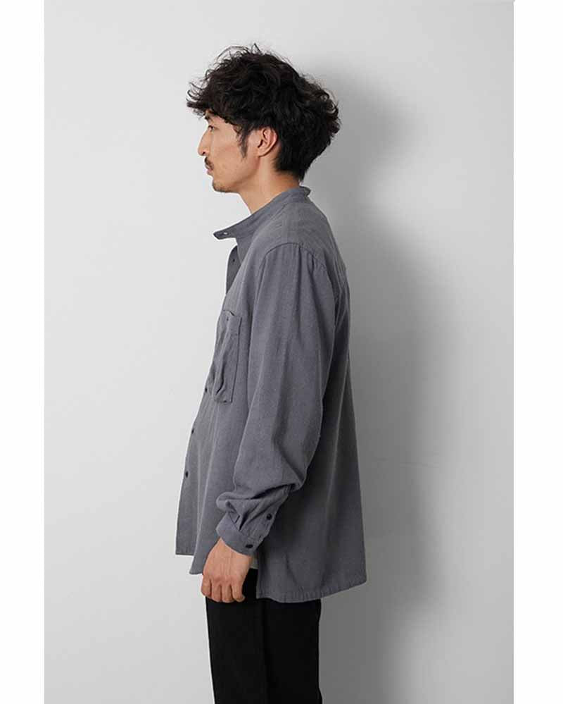 Cotton Silk Serge Shirt