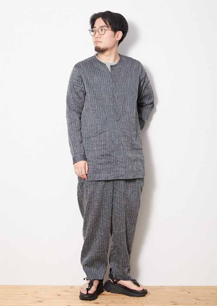 C/R Light Stripe Sleeping Shirt