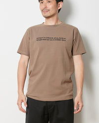 Bantu Proverb Tee - snow-peak-uk