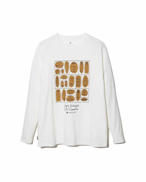 100 Sleep 100 Smile L/S T-Shirt