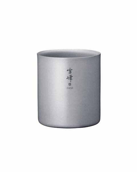 Titanium Double Wall H450 Stacking Mug