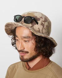 Snow Peak Printed Wo/Nyl Bucket Hat Ug-815Bg
