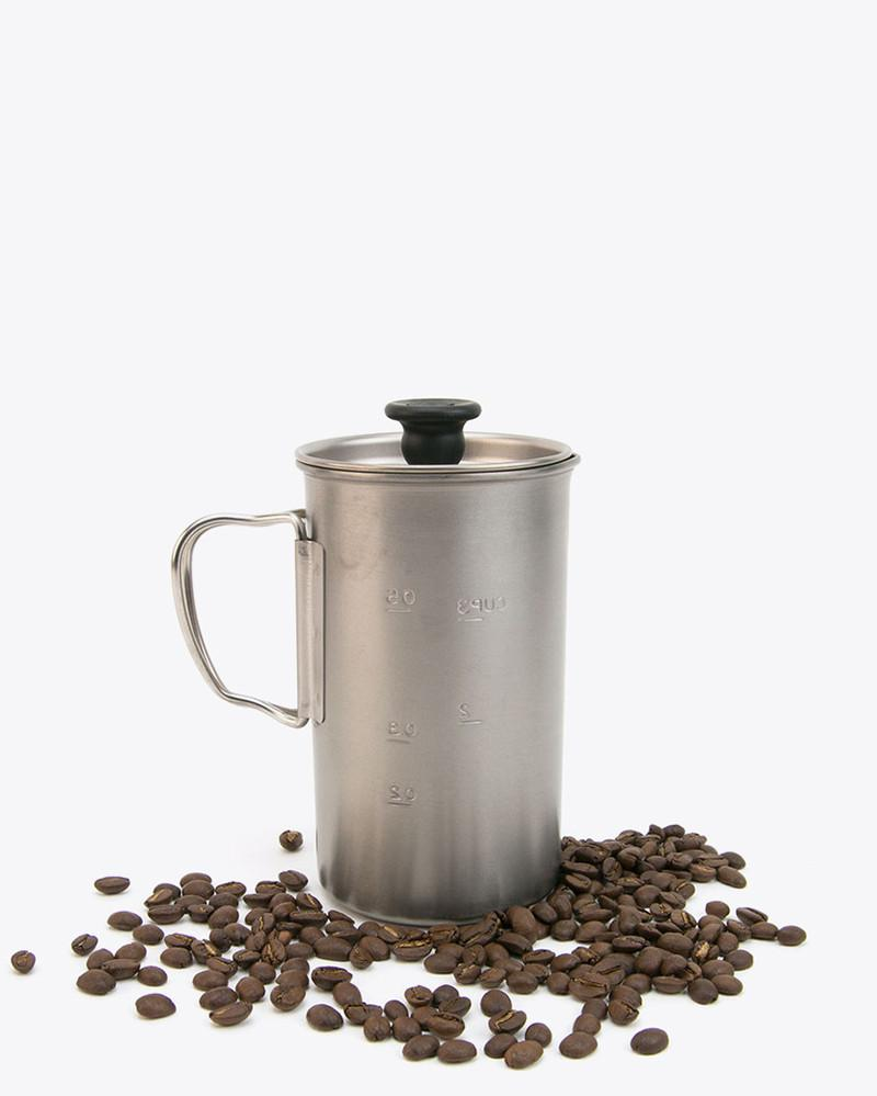 Snow Peak - Titanium French Press - 5