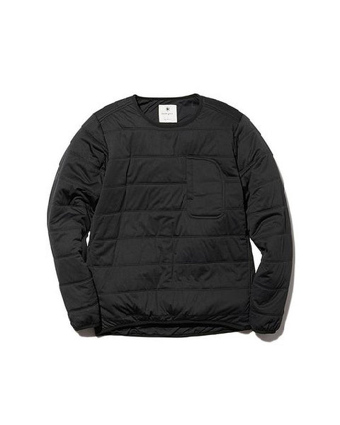 Flexible Insulated Pullover Black