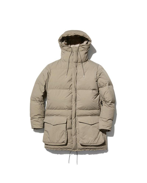 Recycled Nylon Ripstop Down Coat