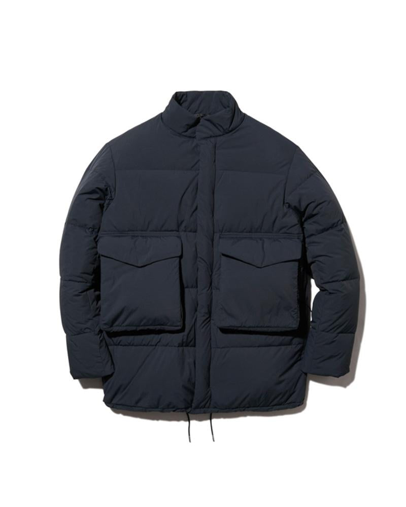 Recycled Nylon Ripstop Down Jacket