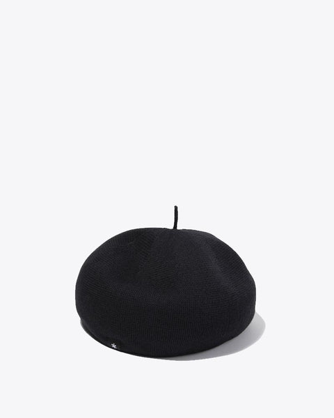 Quick Dry Beret in Black
