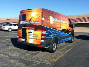 Full Vehicle Wrap - Commercial Vehicles