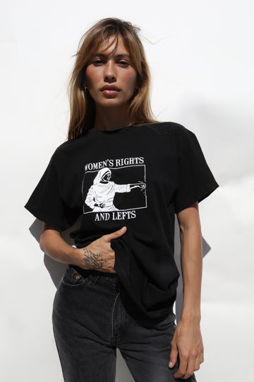 Women's Rights Tee - Black