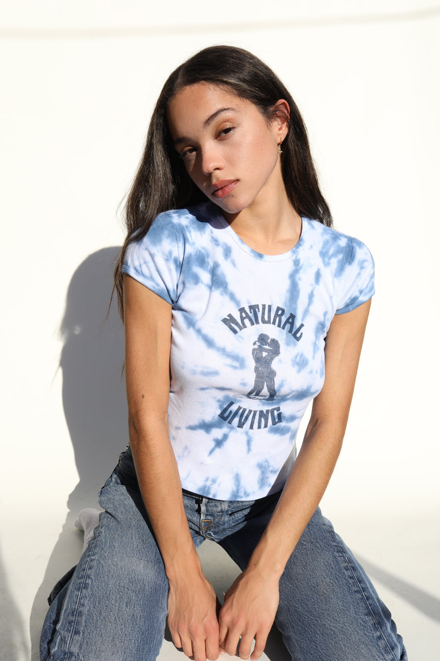Natural Living Tee - Tie Dye