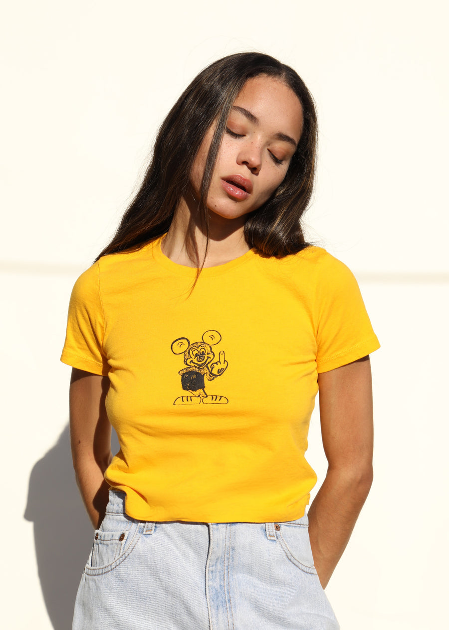 Number One Tee - Gold