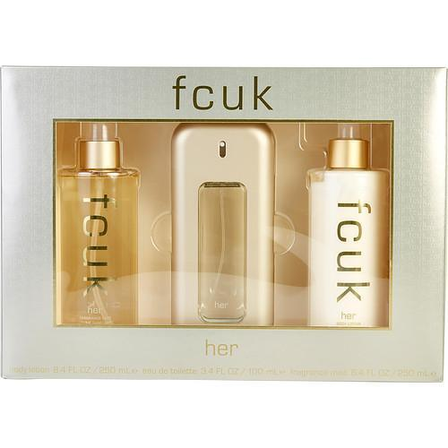 FCUK by French Connection 3 pcs Gift Set - mademoiselle-express
