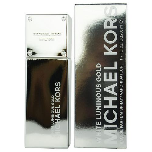 MICHAEL KORS WHITE LUMINOUS GOLD by Michael Kors EAU DE PARFUM SPRAY 1.7 OZ (GOLD COLLECTION) - mademoiselle-express