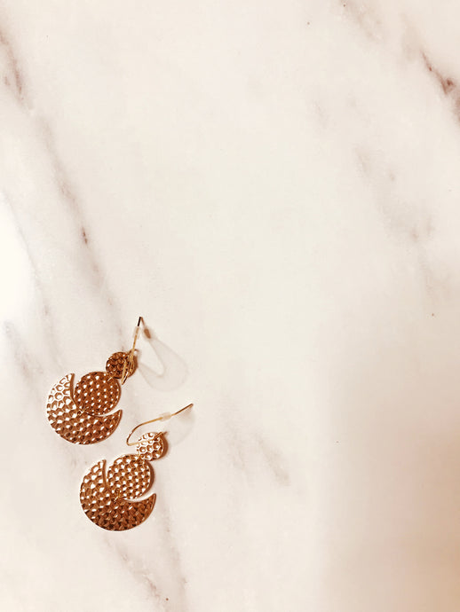 Camille Earring - Gold - Martinali Fashion