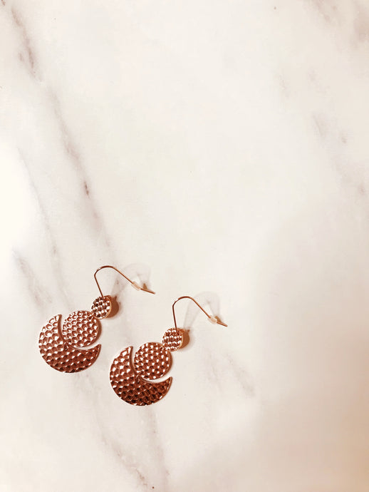 Camille Earring - Rose Gold - Martinali Fashion