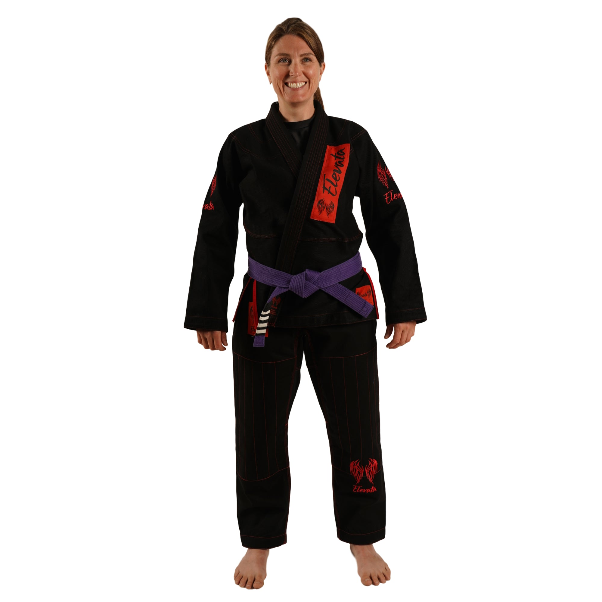 V1 - The Original Black Elevata Gi - Adult