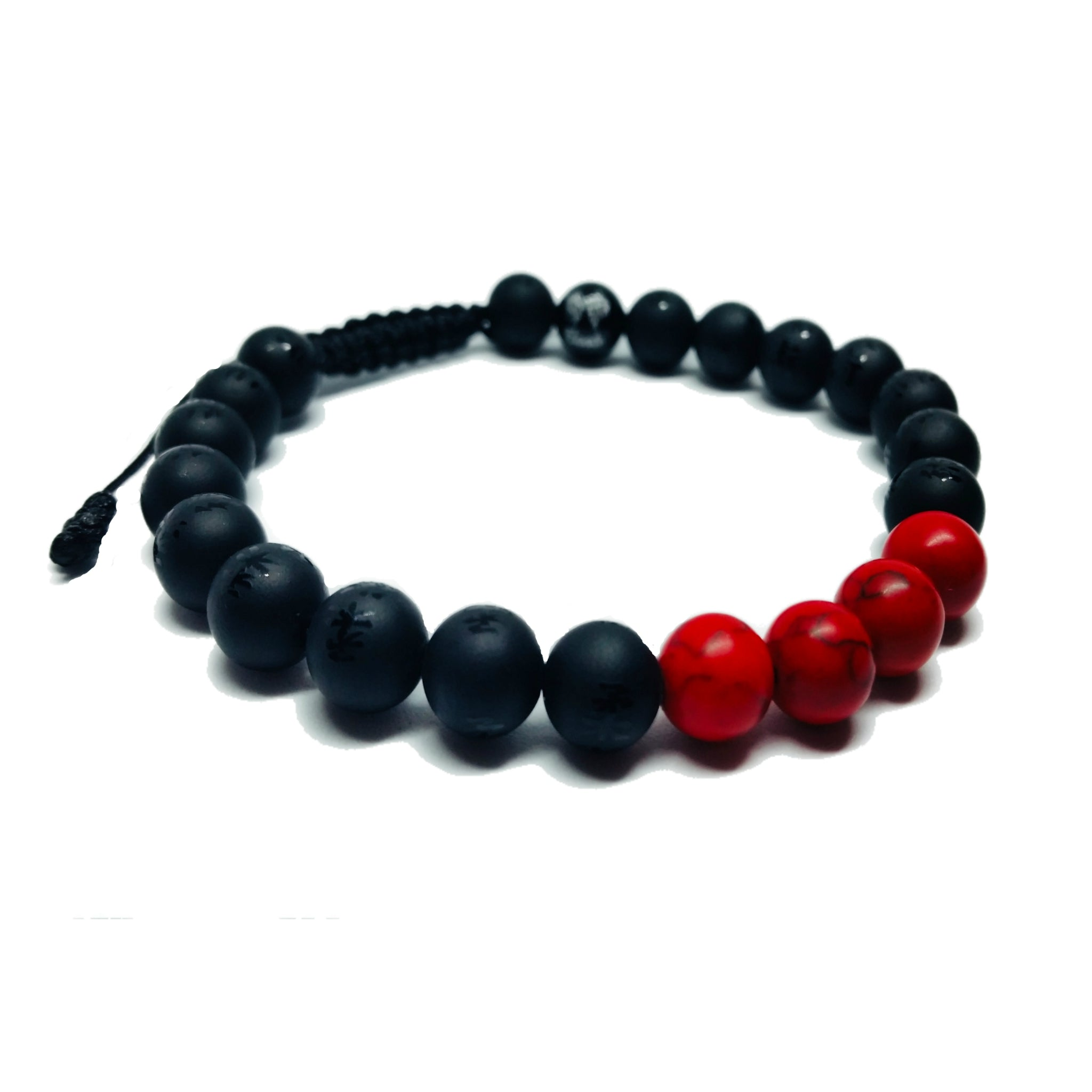 BLACK BELT - Ranked Stone Jiu-Jitsu Bracelet