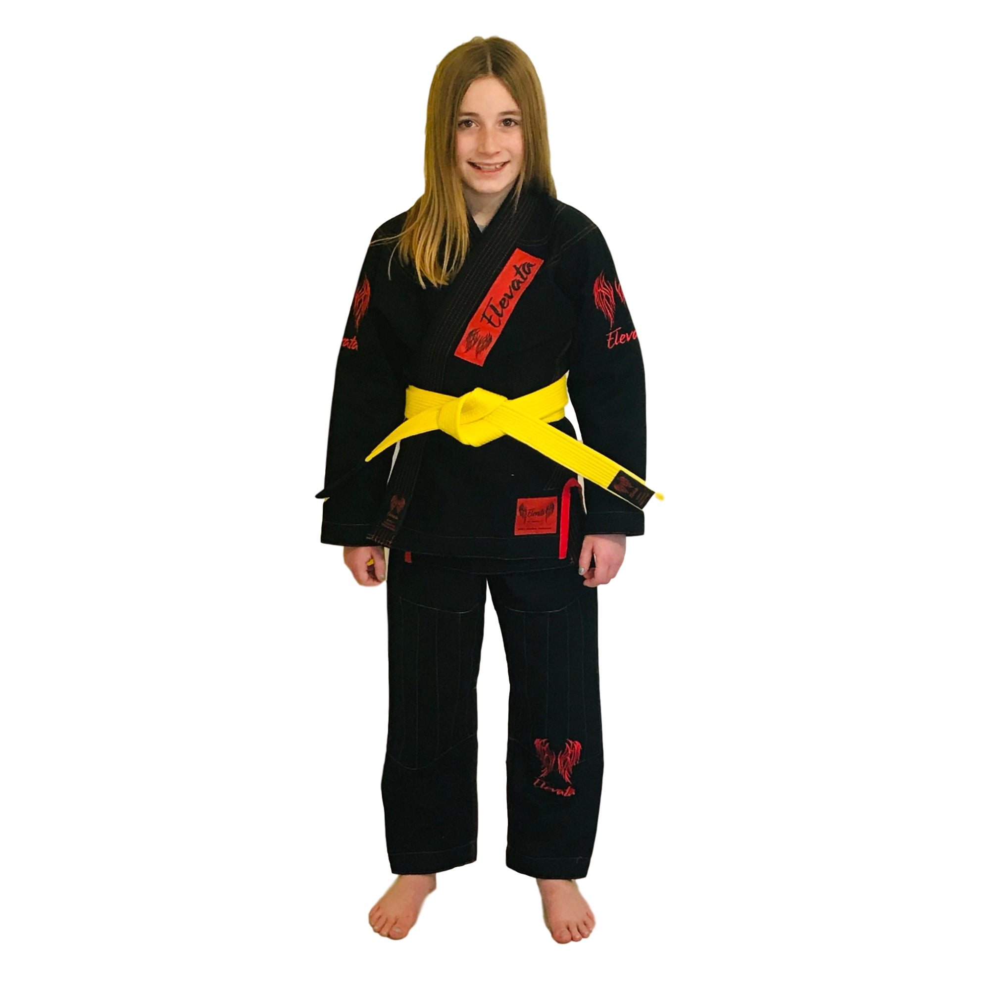 V1- The Original Black Elevata Gi - KIDS