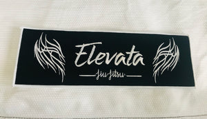 Black Elevata Gi Patch