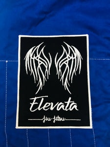 Black Embroidered Elevata Patch