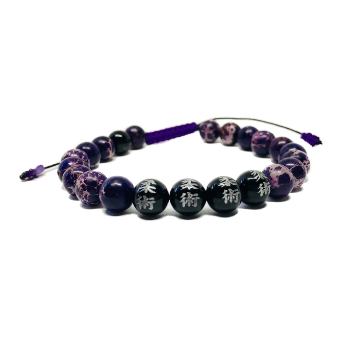 The Grappling Angel Jiu-Jitsu Bracelet  - PURPLE BELT