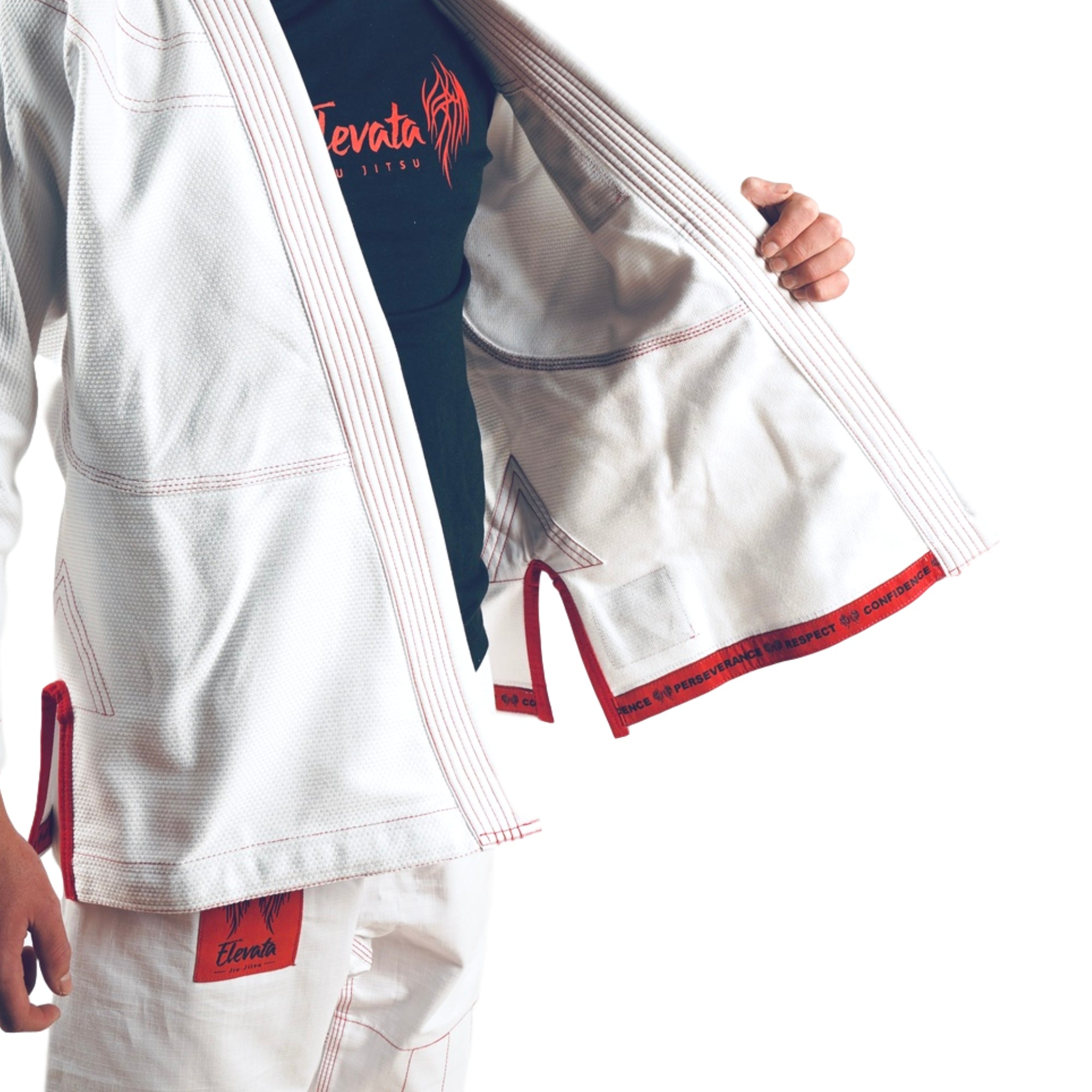 V1 - The Original White Elevata Gi - Kids