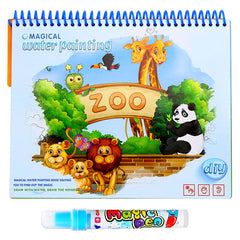 Magic Water Drawing Book Doodle With Magic Pen Painting Drawing Board