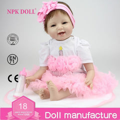 Doll Reborn Realistic Baby Doll For Girls