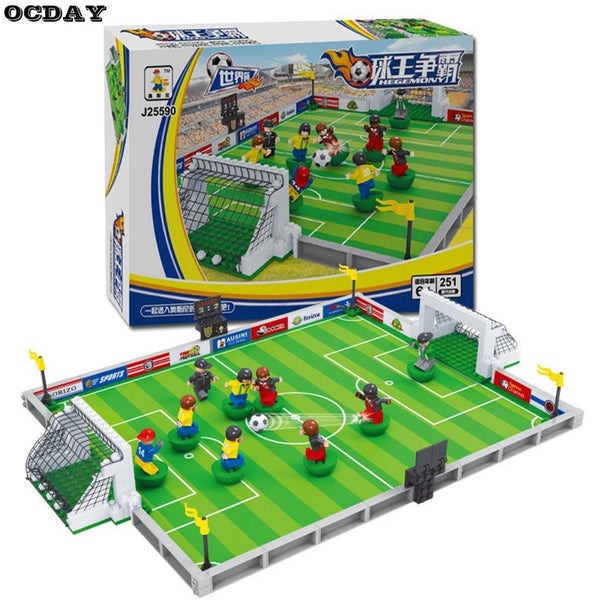 Football 3D Blocks Educational Model Toys