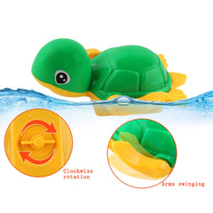 Swim Tortoise Fish Ship Bath Toys Children Baby Bath Water Toy