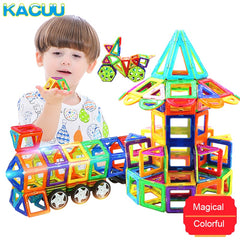Big Size Magnetic Designer Construction Set Model & Building Toy Magnets Magnetic Blocks
