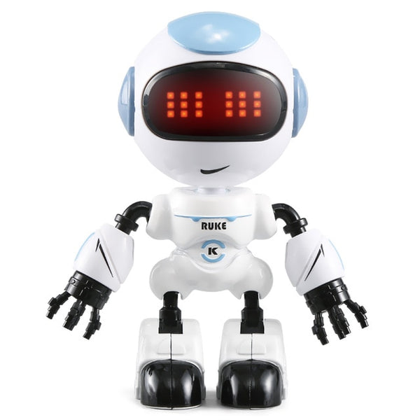 LED Eyes Smart Voice DIY Body Gesture Control RC Robot