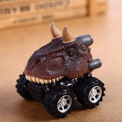 Dinosaur Model Mini Toy Car Back Of The Car