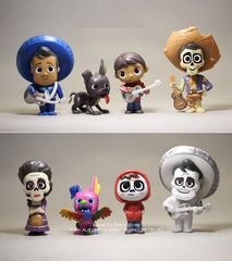 Disney Coco Movie 8pcs/set Action Figurine Toy
