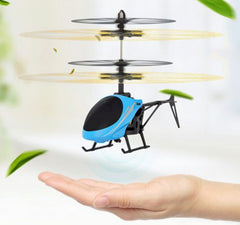 Helicopter Aircraft dron Infrared Induction LED Light Remote Control drone