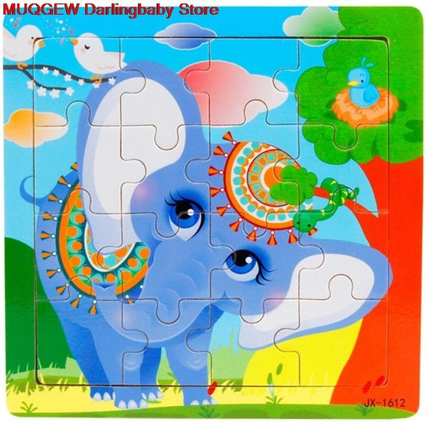 Wooden Puzzle Educational Developmental Training Fun Funny Gadgets Interesting Puzzles