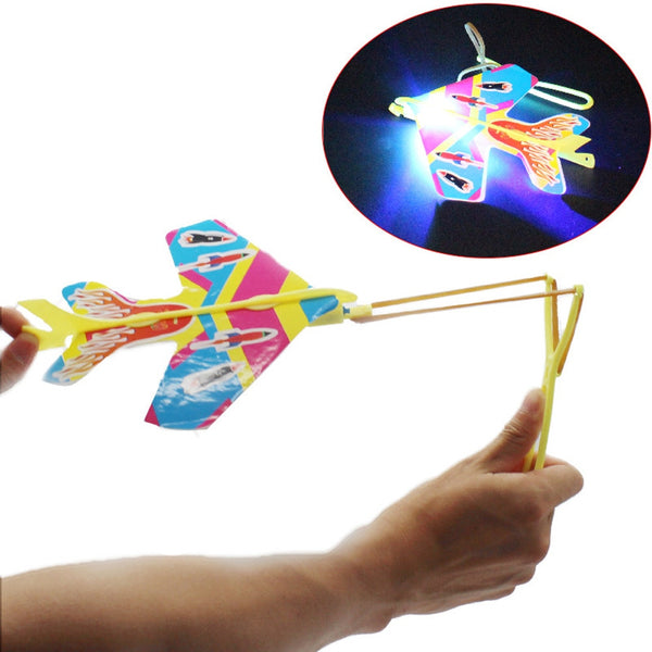 Light Plane Ejection Cyclotron  Slingshot Aircraft For Child Toys