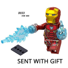 Thanos Energy Stones Gloves Building Blocks Avengers 3 New Infinity War Iron Man Block